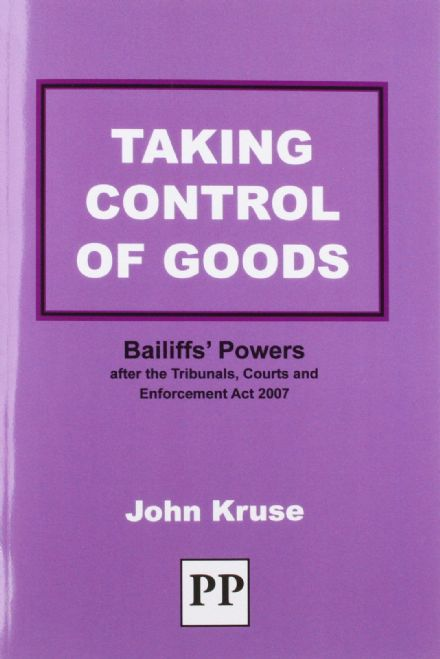 Taking Control of Goods EBook